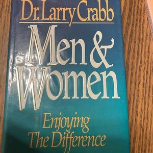 """Other - Used hardback book""""Men & Women"""" by Dr. Larry Crabb"""